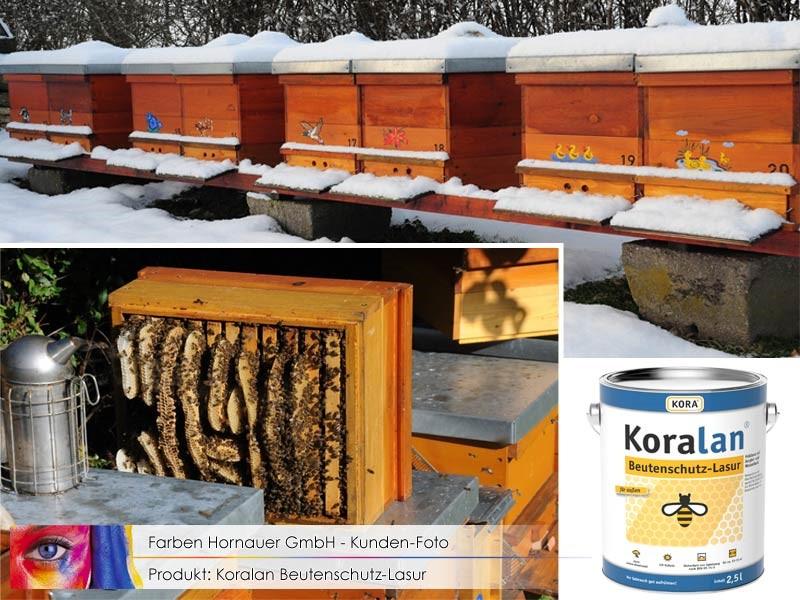Koralan Bienenhaus-Lasur